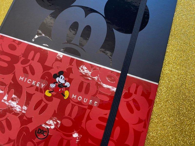 Caderno Argolado Colegial - DAC - Mickey Mouse