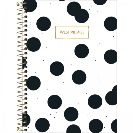 Caderno colegial - 1 matéria - West Village Tilibra