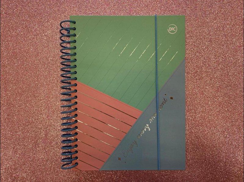 Caderno Colegial - DAC - Enjoy 160 Folhas