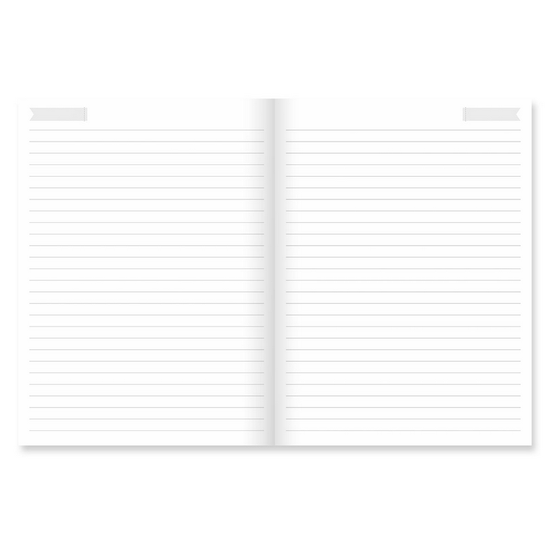 Caderno Flexível Flores Cartões Gigantes