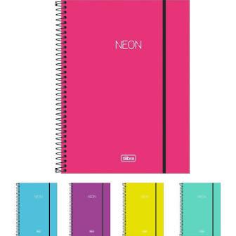 Caderno Universitário 1 matéria - Tilibra - Neon