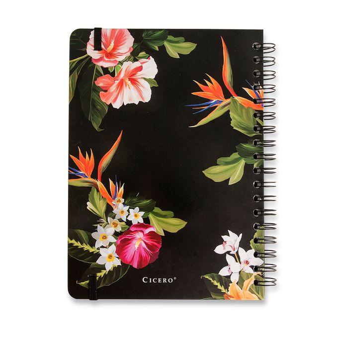 Caderno Wire-O Pautado 17x24 - Fauna Tropical