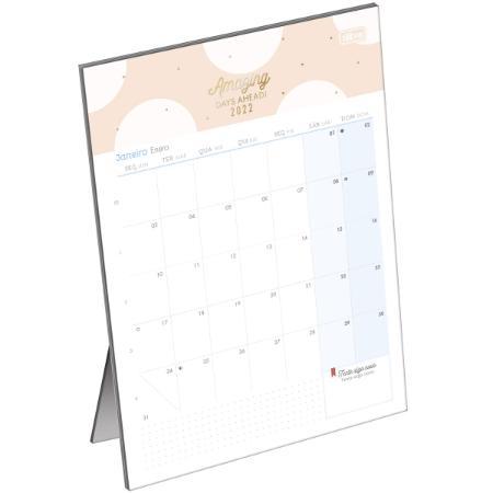 Calendário de Mesa - Tilibra - Soho 2022