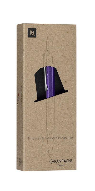 Caneta Esferográfica - Caran d'Ache - 849 Nepresso + Recarga Goliath M