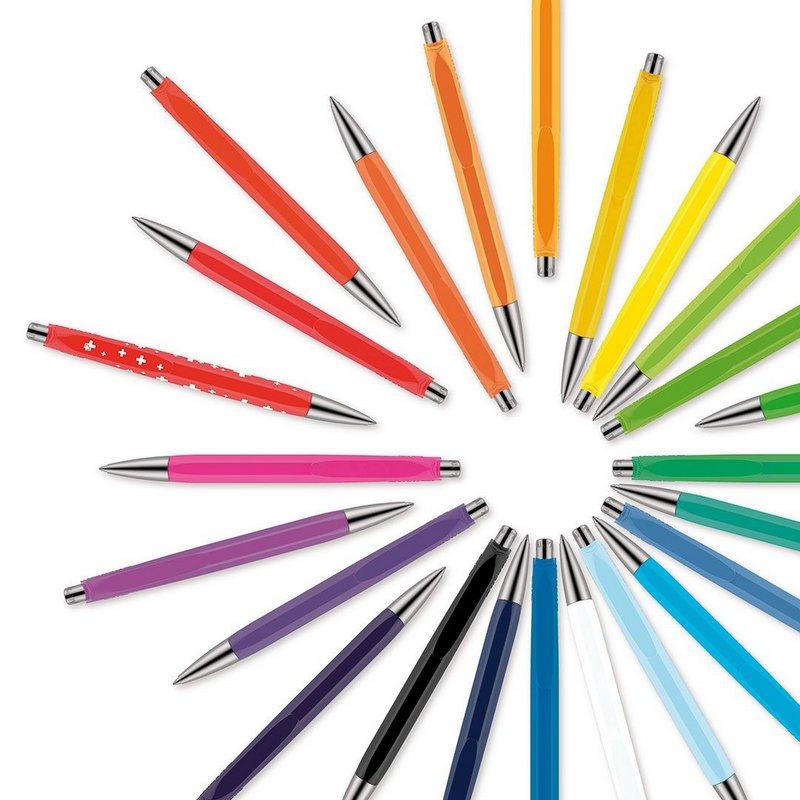 Caneta Esferográfica - Caran D'Ache - 888 Infinite Colorful Swissness