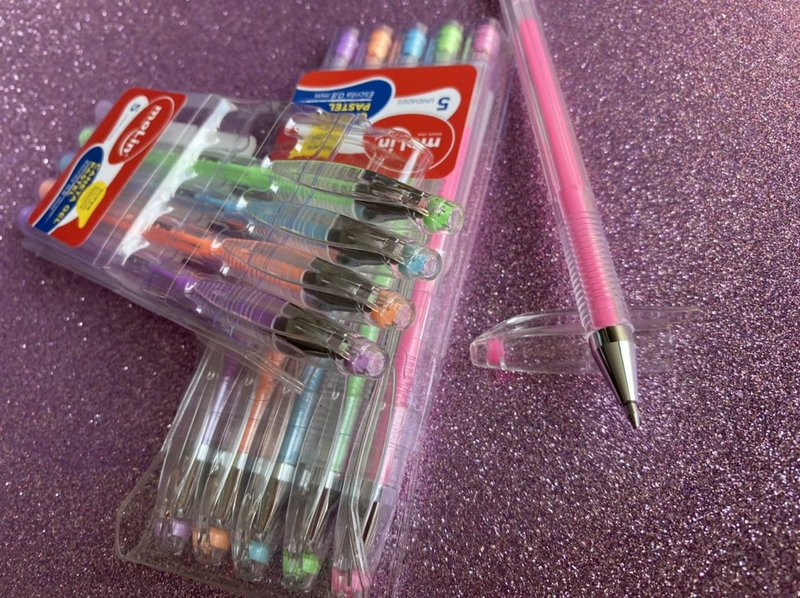 Caneta Gel - Molin - Grip Kit c/ 5 cores