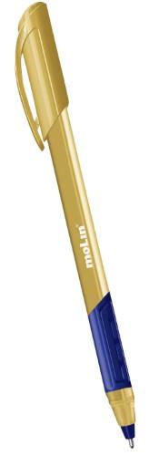 Caneta Trion Grip Gold Molin