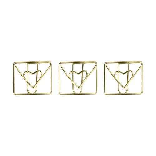Clips Especial - Molin Love - Envelope Apaixonado - 12 unidades
