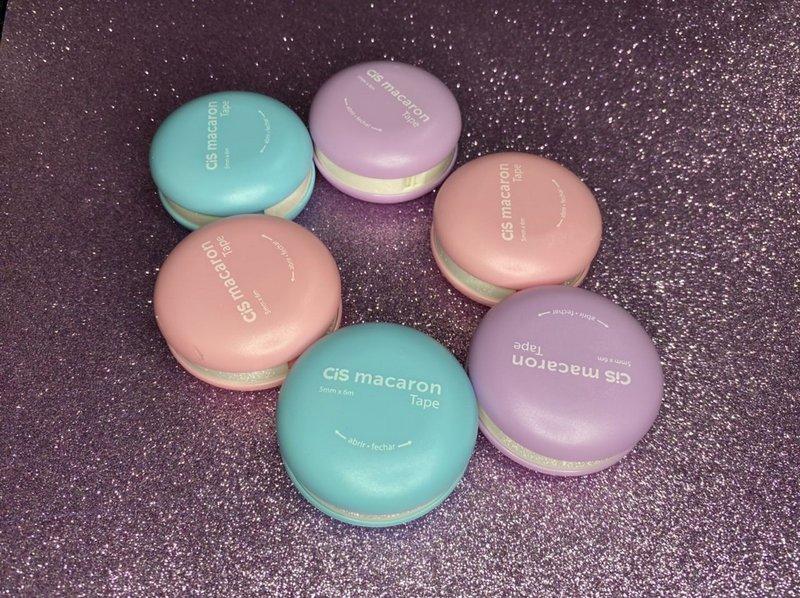 Fita corretiva Macaron - tom pastel - Cis