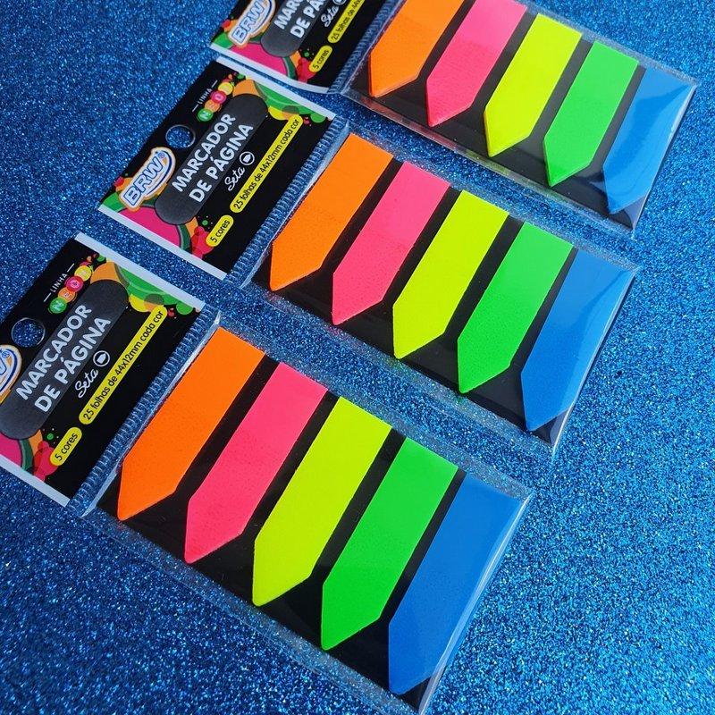 Flags Marca Páginas BRW - 5 cores