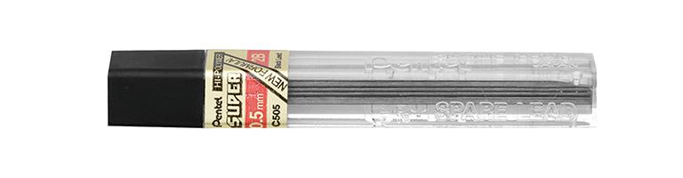Grafites 0.5 MM 2B - Pentel - 2 Tubos com 12 unidades