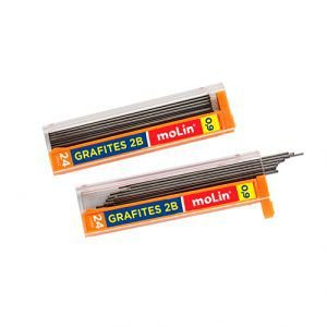 Grafites 0,9mm 2B Molin