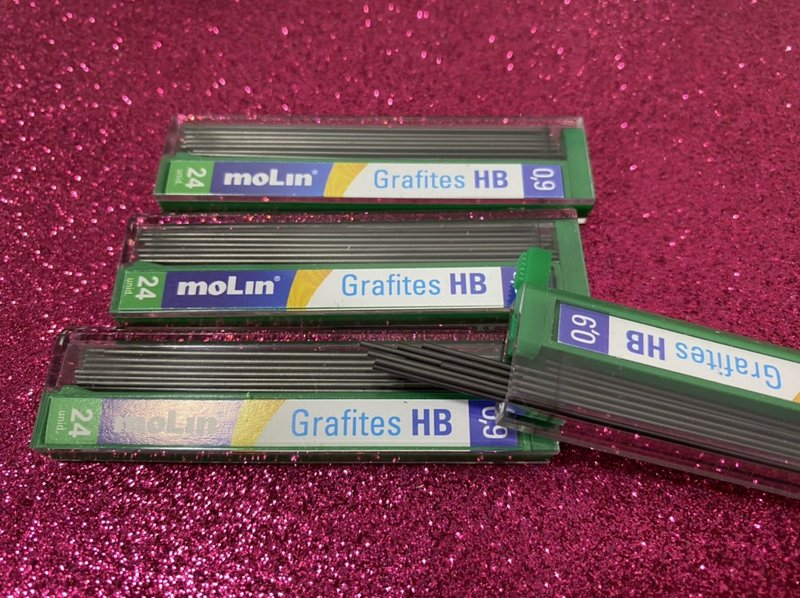 Grafites 0,9mm HB Molin