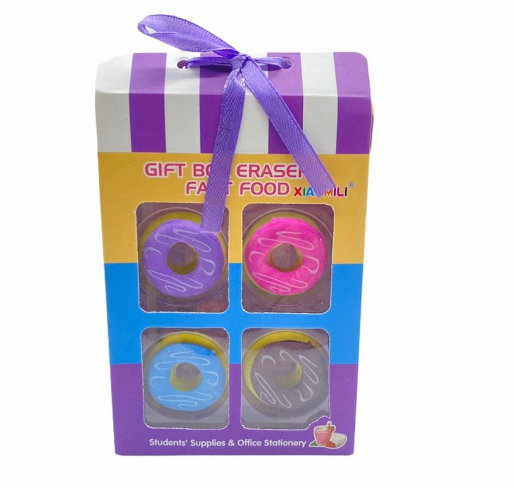 Kit 4 Borrachas - Loop - Donuts