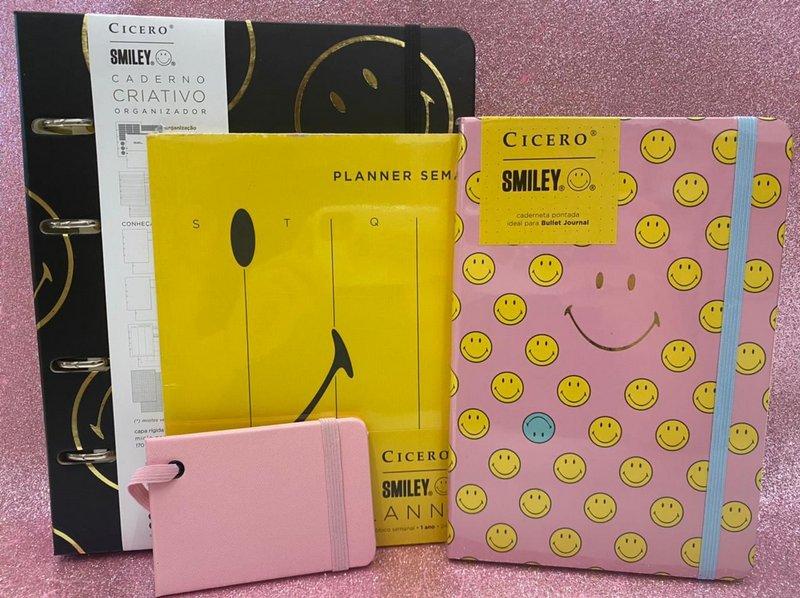 Kit Cícero Smiley + Tag de Mala
