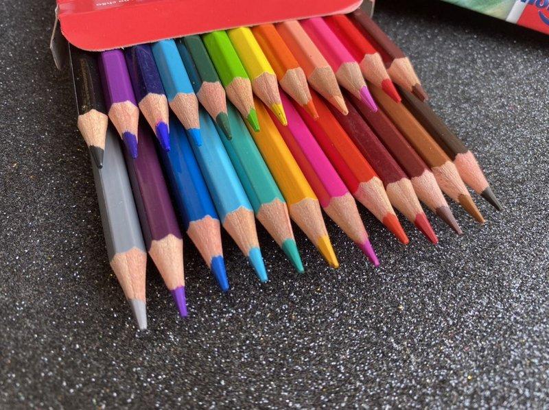 Lápis de cor - Color Dream 24 Cores - Molin