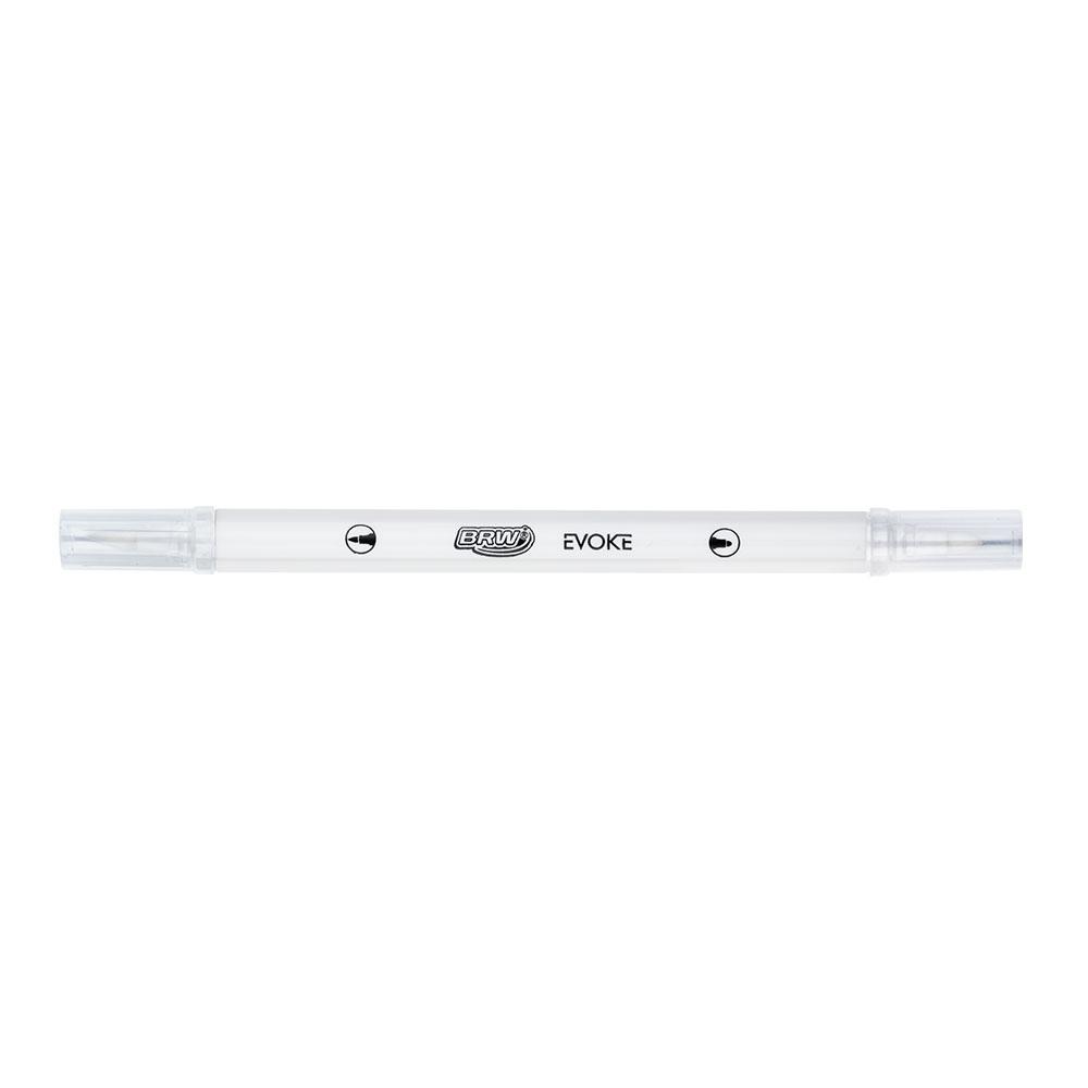 Marcador Artístico - BRW - Dual Brush Pen Metalizada 8 cores
