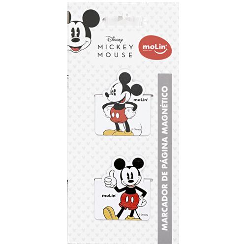 Marcador de Página Magnético - Molin - Mickey Mouse 2un
