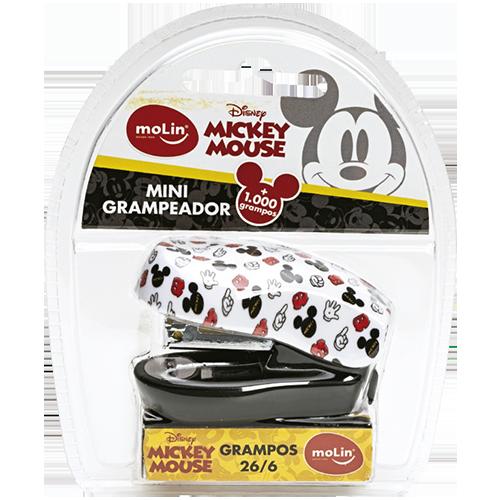 Mini Grampeador Molin Mickey Mouse + 1000 grampos