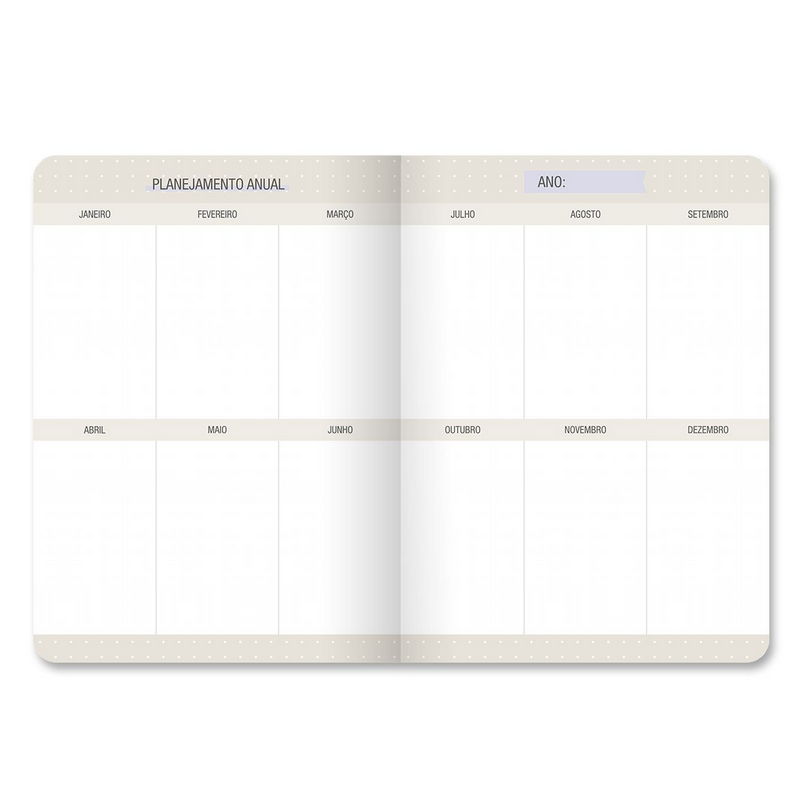 Planner Mensal Granilite - Cartões Gigantes