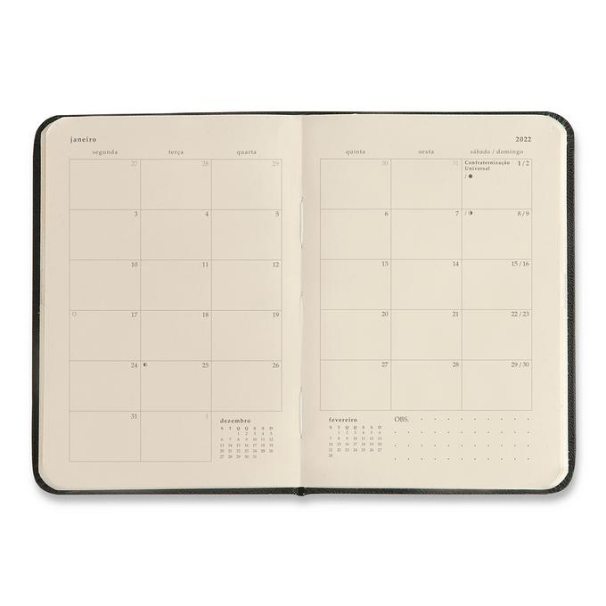 Planner Semanal 2022 - Cícero - Orla Semanal 9x13 Copacabana Listras