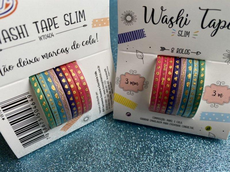 Slim washi tape - BRW