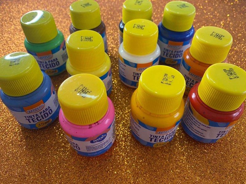 Tinta para Tecido 35ml BRW - ideal para tie dye!