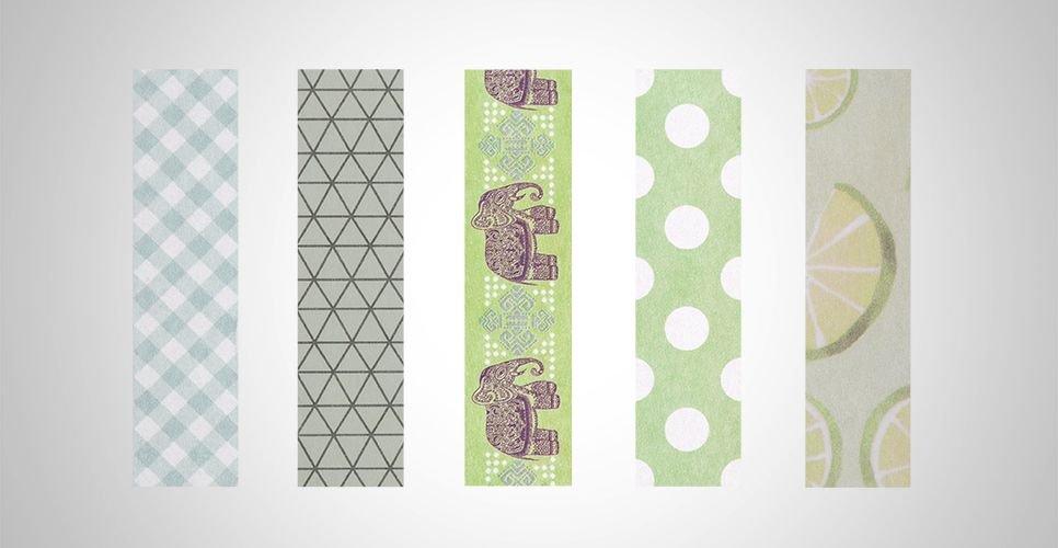 Washi Tape BRW Green
