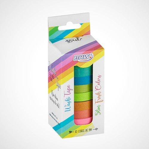 Washi Tape BRW Slim Fresh Colors