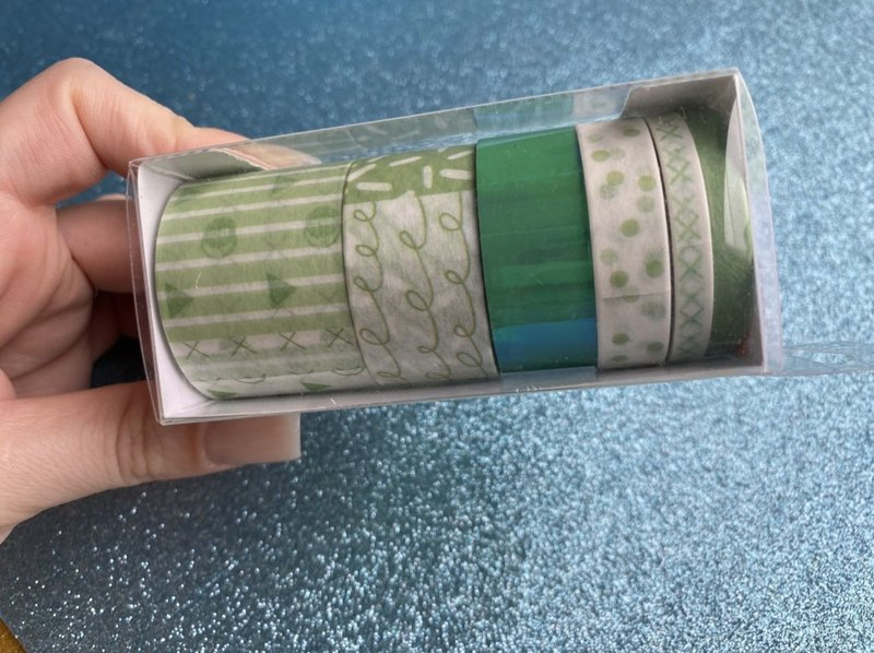 Washi tape candy - com detalhe holográfico - BRW