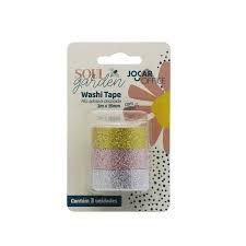 Washi Tape Jocar Office Soul Garden Glitter