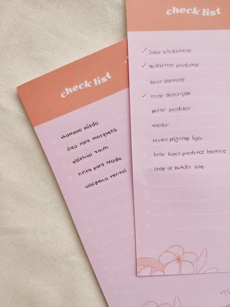 bloco checklist 10x21