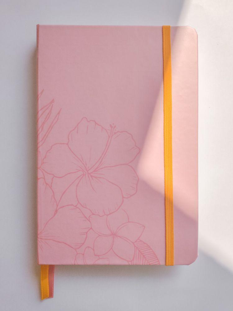 caderneta flores tropicais 90g/m² quadriculado - wabi sabi