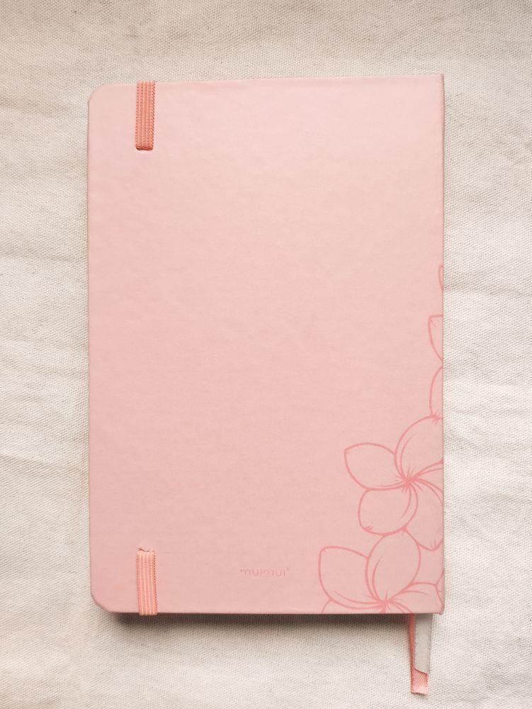 caderneta pluméria peach 90g/m²