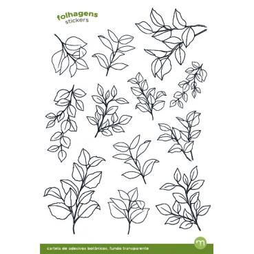 monte o seu trio de cartelas botânicas neutras