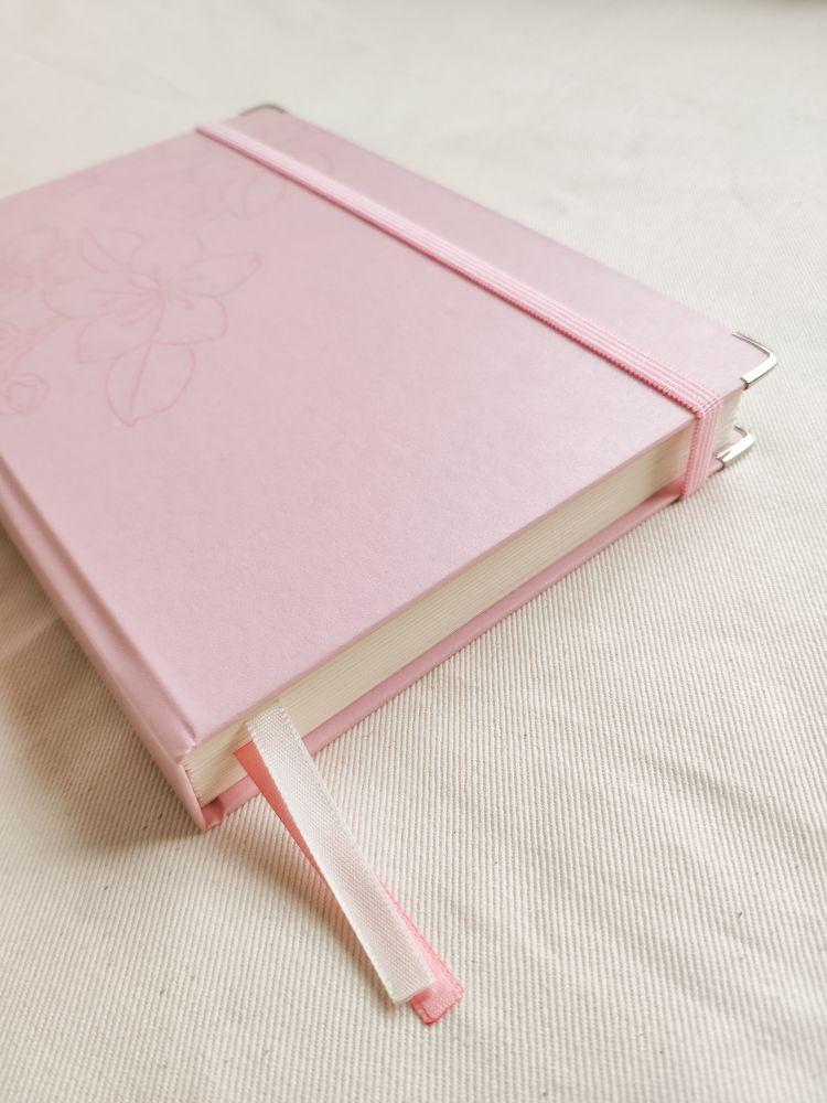planner 2021 rosa sakura - wabi sabi