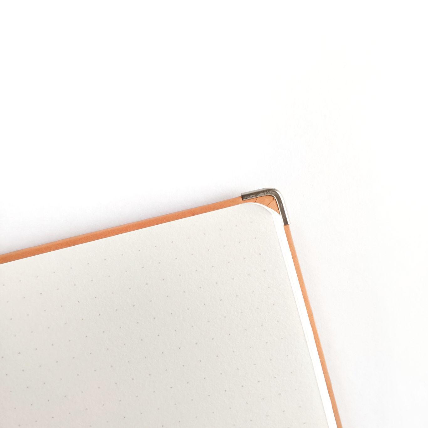 wabi sabi - caderneta lombada florida caramelo 120 g/m²