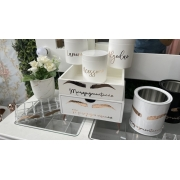 Kit 8 peças - Micropigmentação Branco