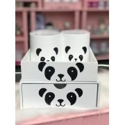 Kit 4 peças - Fofurices - Panda