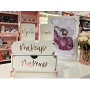 Kit 4 peças Makeup