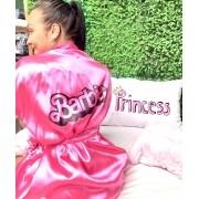 Robe Cetim Barbie