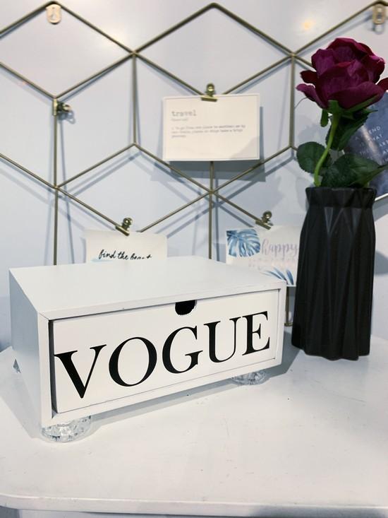 Gaveta Vogue com pé Acrílico
