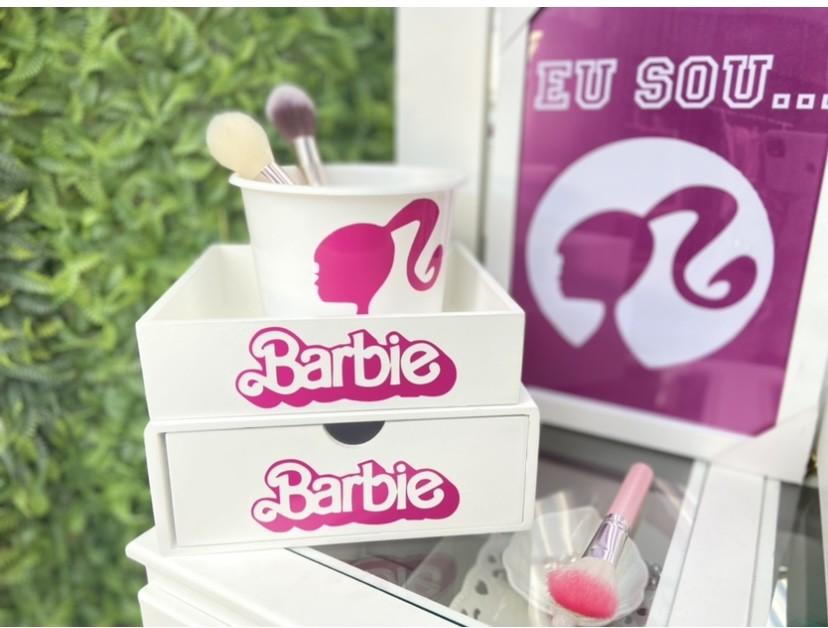 Kit 3 peças - Barbie