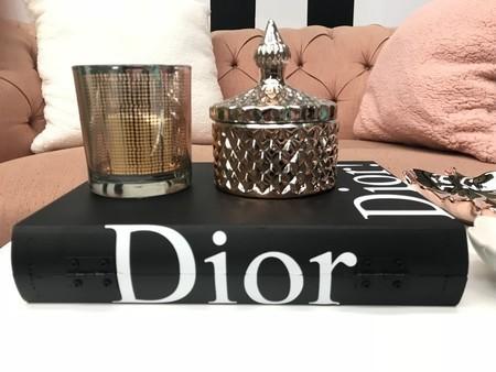 Livro Decorativo Dior Preto