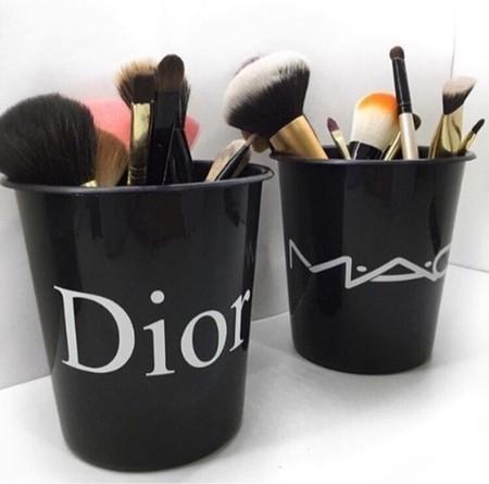Pote Porta Treco Makeup PRETO