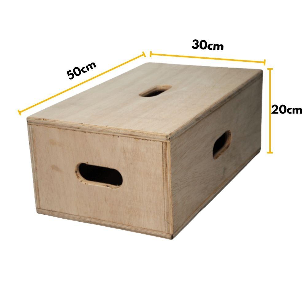 3 Tabela Caixa de Madeira