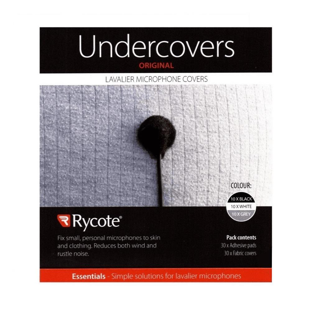 Adesivo para Lapela Undercover Rycote Preto