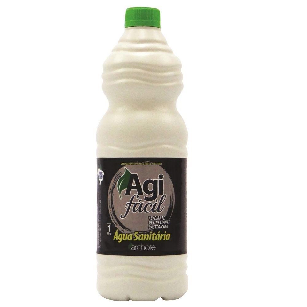 Água Sanitária 1 Litro Agifácil