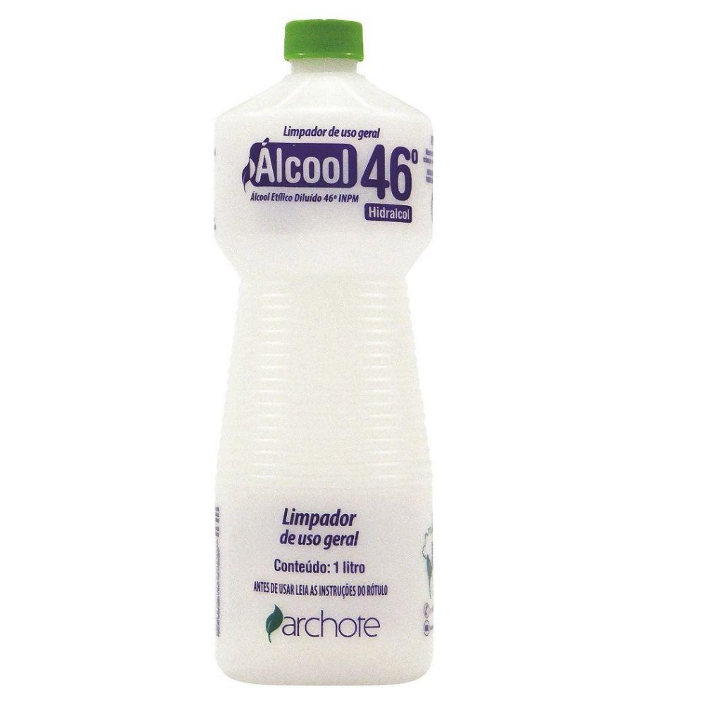 Álcool Líquido Archote 46º 1 Litro