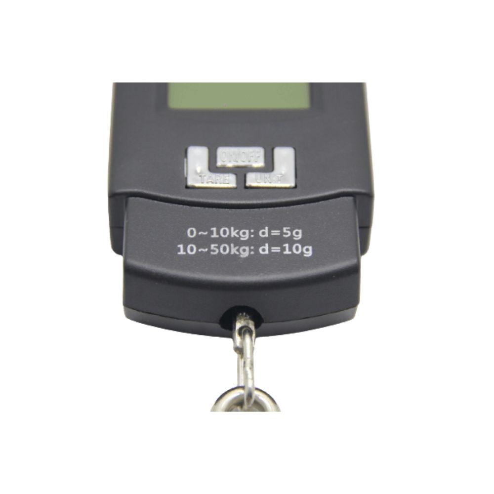 Balança Digital Portátil De Gancho Alta Precisão Até 50kg  - Casa do Roadie